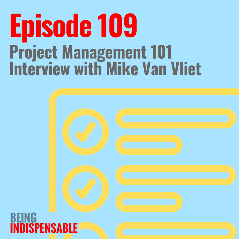 Ep 109 Being Indispensable Liz Van Vliet