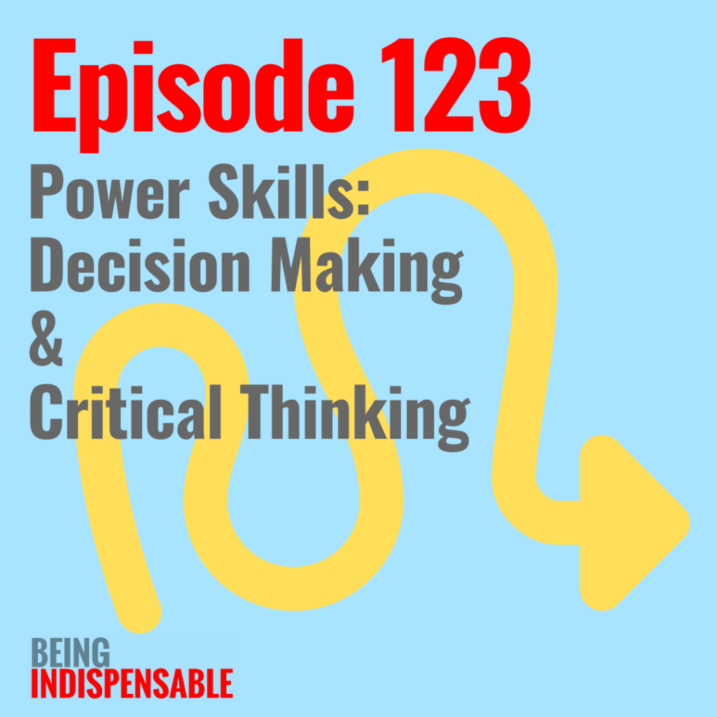 Being Indispensable podcast 123